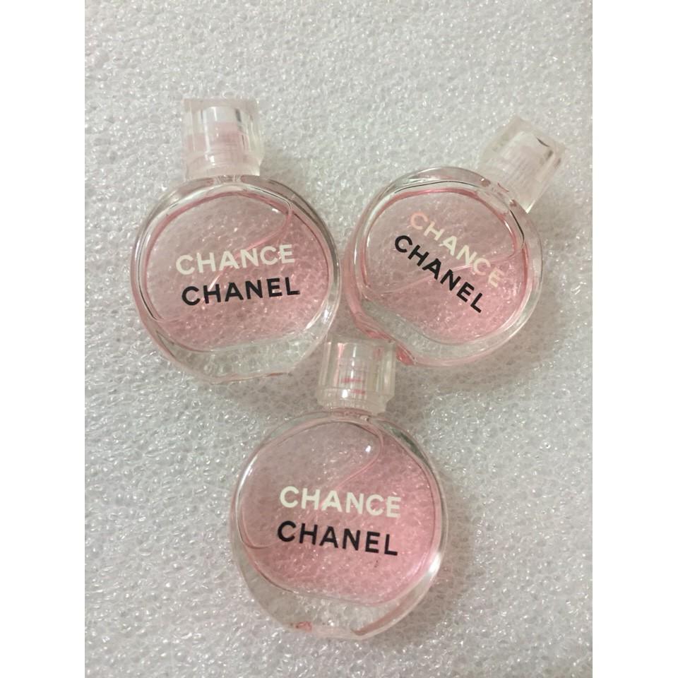 Nước hoa Chance Chanel mini hồng