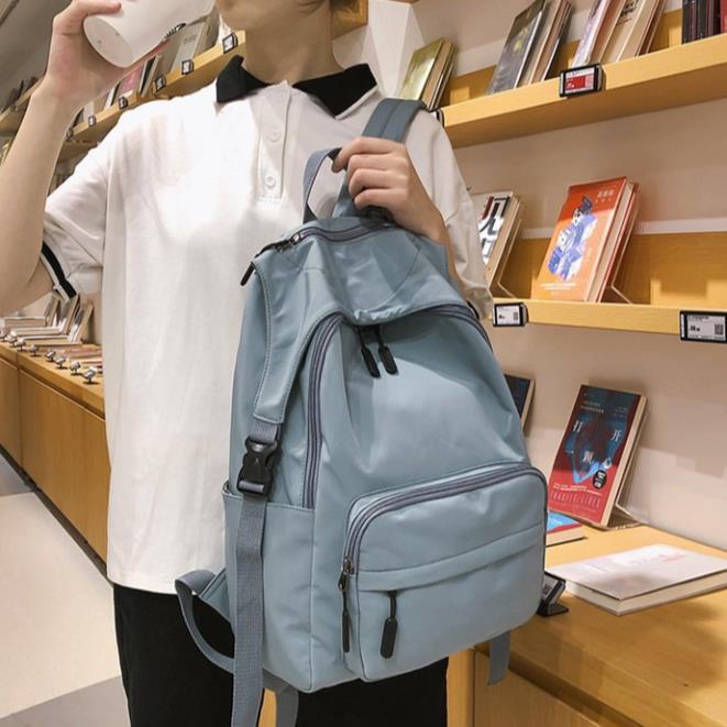 Balo nữ vải mềm mịn Hàn Quốc mẫu mới 2020 đựng laptop TX104