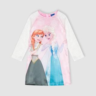 Áo dài Elsa diện tết cho bé gái Rabity 5027