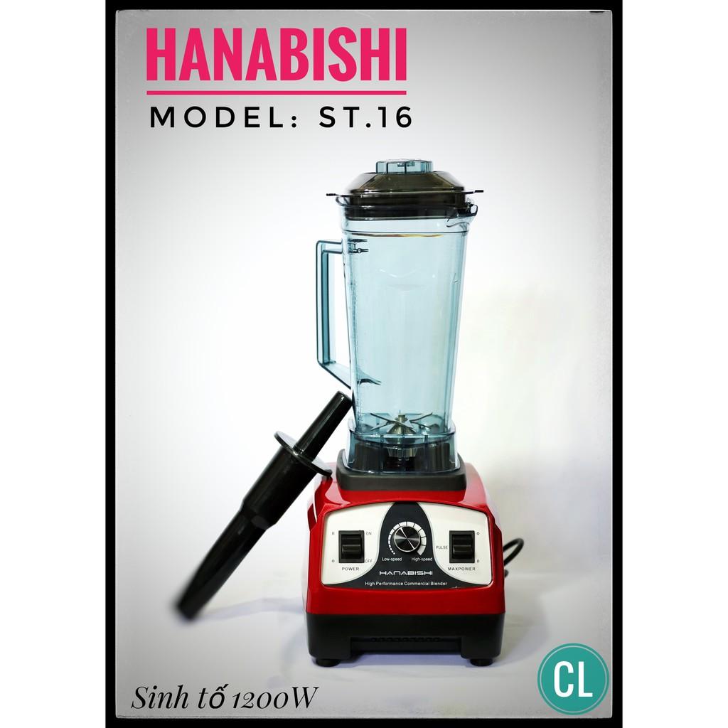 Máy xay sinh tố Hanabishi ST16(1200W) - 3291037 , 1005819257 , 322_1005819257 , 1560000 , May-xay-sinh-to-Hanabishi-ST161200W-322_1005819257 , shopee.vn , Máy xay sinh tố Hanabishi ST16(1200W)
