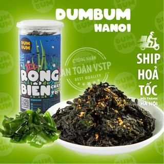 [Mã SKAMSALE8 giảm 10% đơn 200K] Rong biển cháy tỏi 150g DumBum đồ ăn vặt Hà Nội vừa ngon vừa rẻ