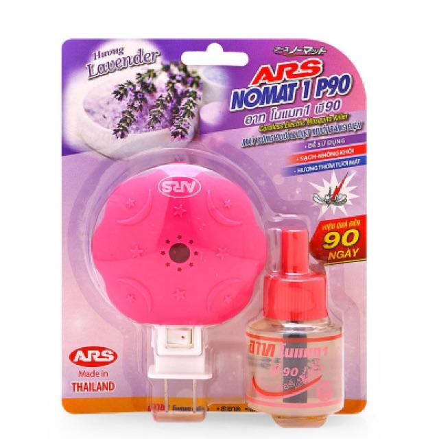 Máy xông đuổi và diệt muỗi hương Lavender Ars Nomat P90