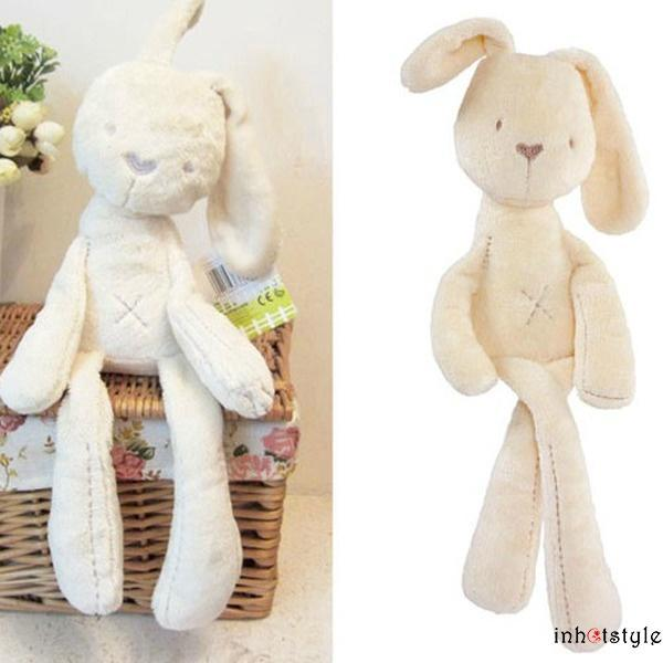 AVV-Fashion Children Intelligence Toys Lovely Kids Bunny Infant Plush Soft Toys