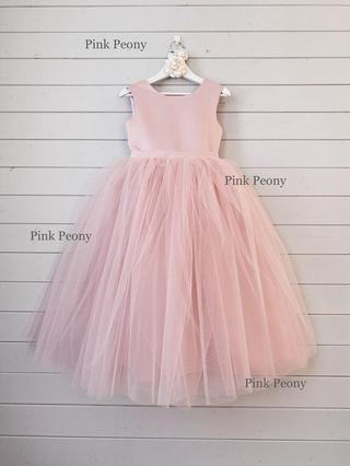 Váy công chúa pink peony hồng dáng dài ❤️ FREESHIP ❤️ Váy công chúa pink peony hồng dáng dài cho bé