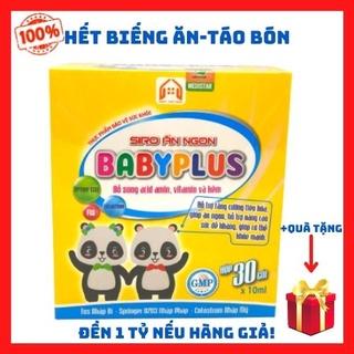[CAM KẾT 100%] Hết Biếng Ăn – Suy Dinh Dưỡng – Chậm Lớn – Táo Bón Baby Plus Siro Ăn Ngon