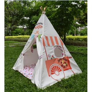 Lều vải xe kem cao cấp cho bé