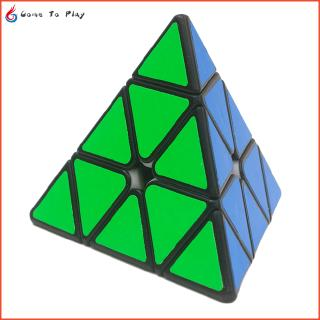 Yuxin Little Magic Professional Pyramid 3x3x3 Speed Magic Cube Puzzle Cube Children Adult Education