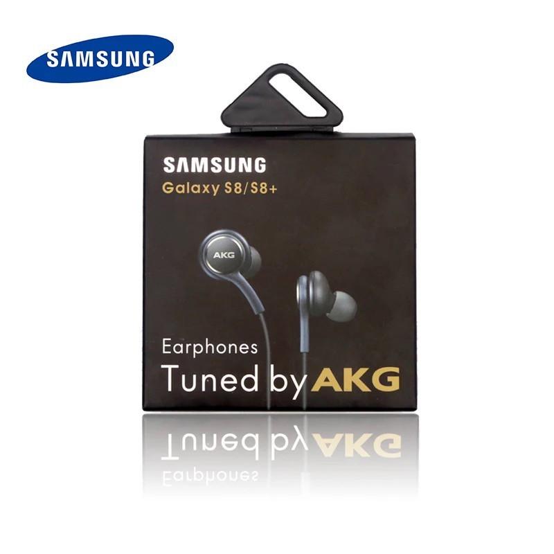 Tai Nghe Samsung Nhét Tai Có Dây AKG EO-IG955 Đầu Tròn 3.5mm Có Mic Nút Điều Khiển Đa Năng Xài Cho Galaxy S7 S8 S9 S10