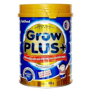 Sữa Grow Plus xanh 900g Nutifood (cho trẻ 1 tuổi trở lên) thumbnail