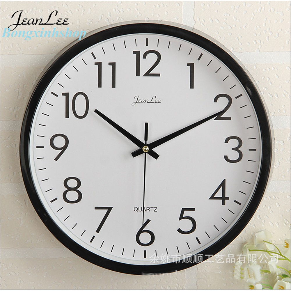 [SALE GIÁ HỦY DIỆT] Đồng hồ treo tường tròn JeanLee cao cấp