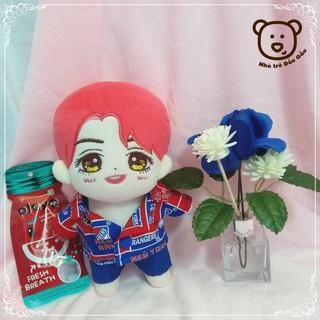 Outfit doll 20cm – Xanh đỏ
