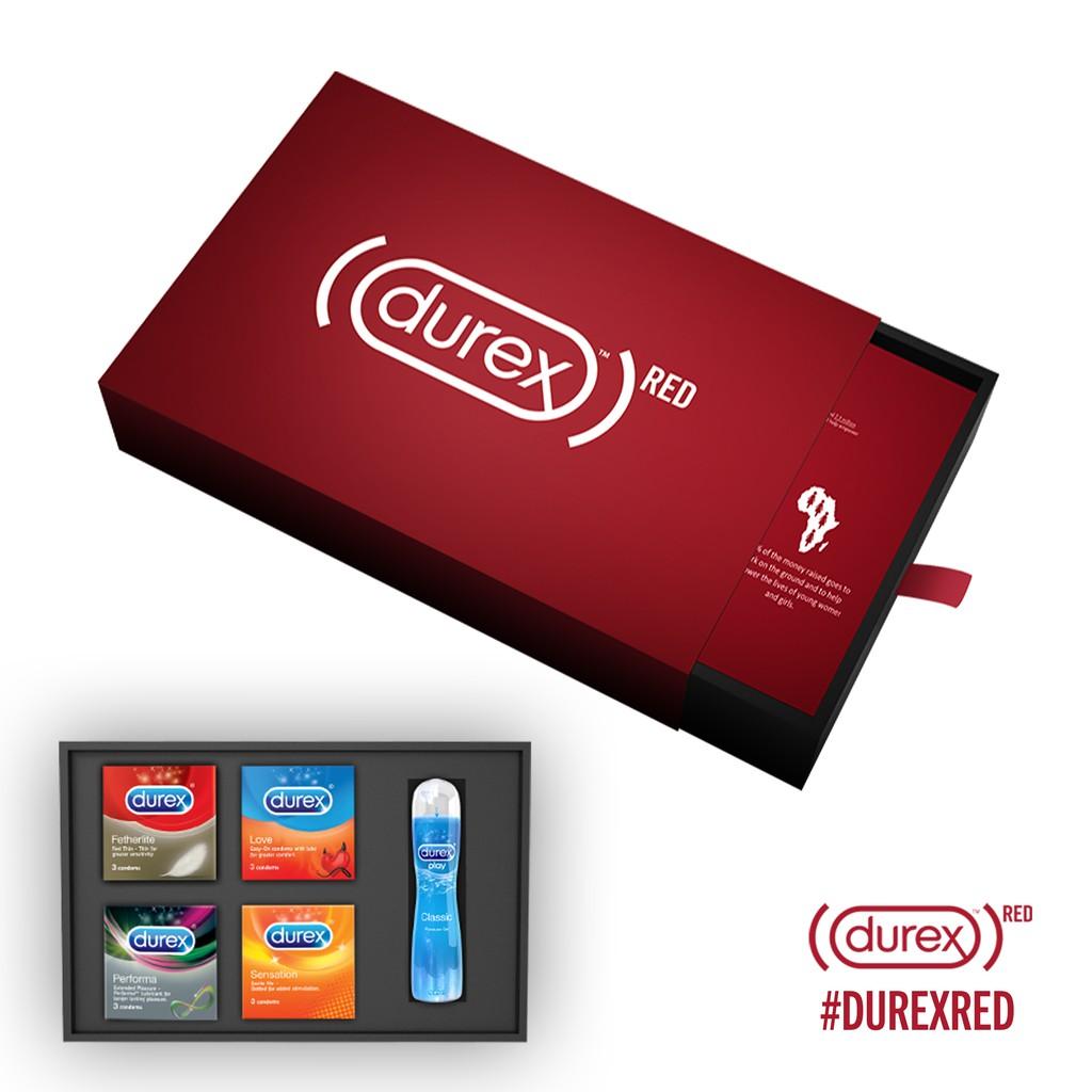 Hình ảnh Bộ sản phẩm Durex Red phiên bản giới hạn-1
