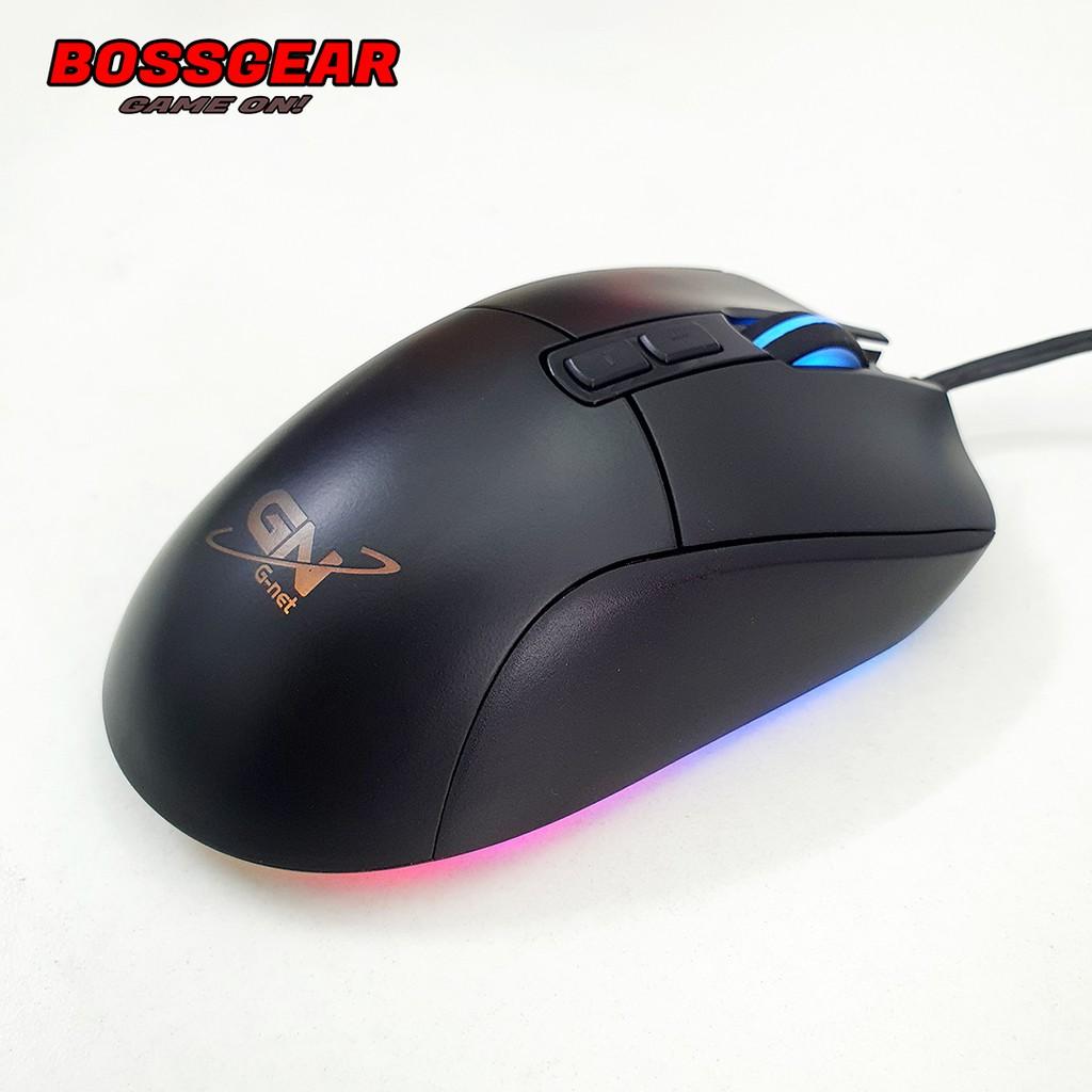 [Mã SKAMPUSHA7 giảm 8% đơn 250k]Chuột Gaming Gnet M30 RGB ( Mắt đọc PW3050, 4000 DPI, LED RGB )
