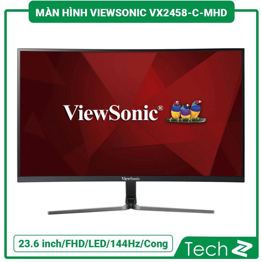 Màn Hình Viewsonic Vx2458-C-Mhd (23.6 Inch/Fhd/Led/144Hz/1Ms/280 Nits/Dp+Hdmi/Cong)