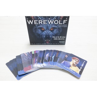 Ma Sói Ultimate Deluxe (Tiếng Việt) - Boardgame Werewolf Ultimate Deluxe thumbnail