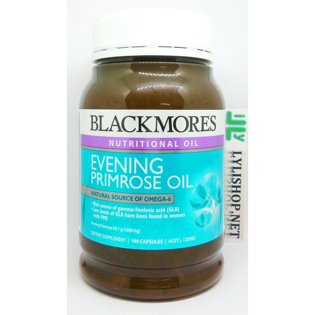Tinh dầu hoa anh thảo Blackmores Evening Primrose 190 viên từ Úc