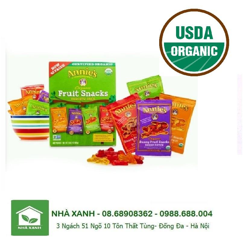 Kẹo dẻo trái cây hình thỏ hữu cơ ( chíp chíp) / ANNIE