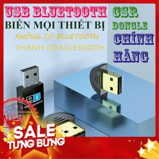 [Chính Hãng] Đầu USB bluetooth CSR 4.0 Dongle biến thiết bị không có bluetooth thành có bluetooth - Sóng căng đét
