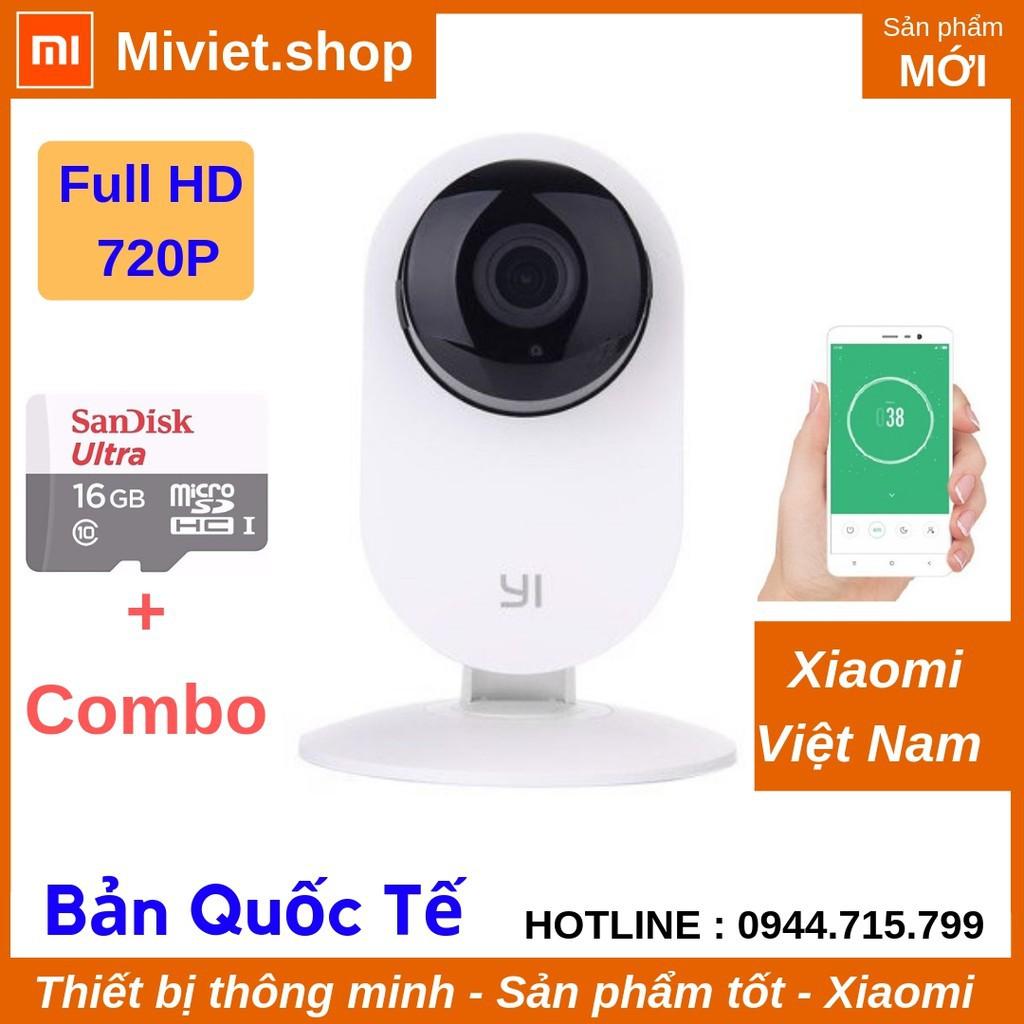 Camera Giám Sát Yi Home 720p HD Quốc Tế - Thẻ nhớ 16G - Chính Hãng - Miviet.shop - 22747451 , 2067195563 , 322_2067195563 , 679000 , Camera-Giam-Sat-Yi-Home-720p-HD-Quoc-Te-The-nho-16G-Chinh-Hang-Miviet.shop-322_2067195563 , shopee.vn , Camera Giám Sát Yi Home 720p HD Quốc Tế - Thẻ nhớ 16G - Chính Hãng - Miviet.shop