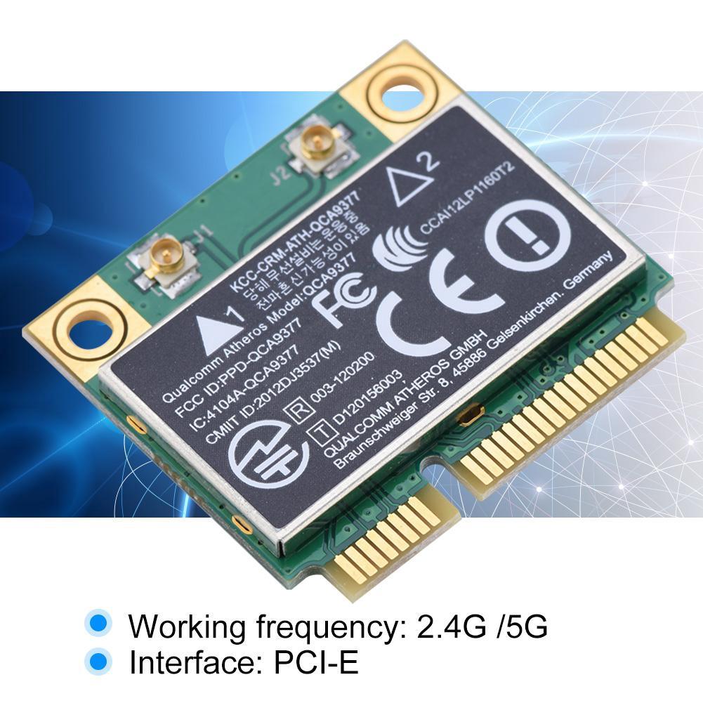 Card Wifi 2 4 / 5G 433Mbps Bluetooth 4 2 không dây Mini PCI-E 802 11AC cho  Laptop PC zz