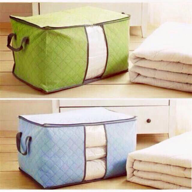 Combo 2 túi vải đựng chăn màn