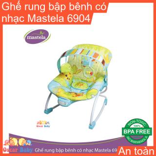 Ghế nằm dành cho trẻ em có khung bằng sắt bọc đệm 6904 hiệu Mastela