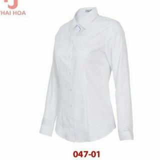 Áo sơmi trắng thái hòa mã 047-01+740-01