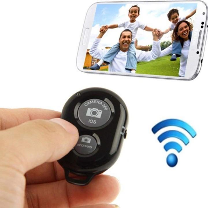 Remote Chụp Ảnh Bluetooth Cho Điện Thoại
