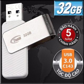 USB Team Group INC C143 32GB / USB 3.0 tốc độ cao (Trắng) - hàng chính hãng