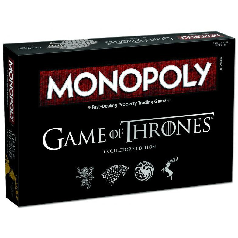 [150K Freeship] Cờ Tỷ Phú Monopoly: Game Of Thrones Board Game