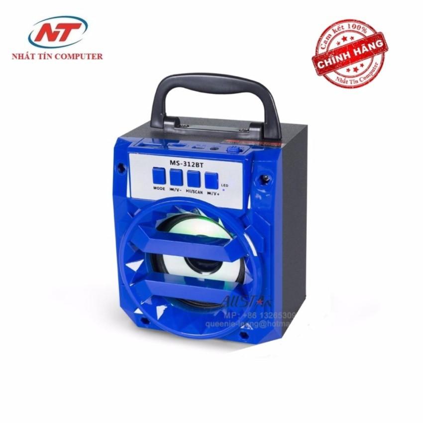 Loa bluetooth mini xách tay NTC MS-312BT 6W - đèn Led
