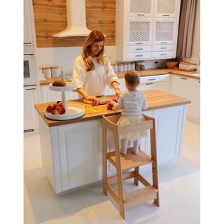 Kệ gỗ đa năng/Kệ thang gỗ/Kệ gỗ trưng bày/Kệ bé ăn dặm/Kệ cho mẹ và bé/E mysun/Emysun123456-KMB