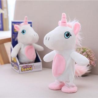 Đồ chơi Unicorn talking dùng pin 25cm