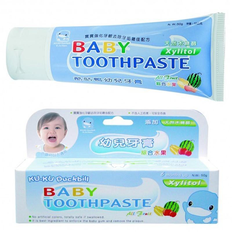 Kem đánh răng trẻ em hương trái cây kuku 1052