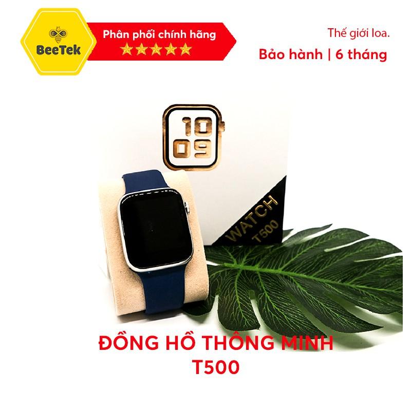 Đồng Hồ Thông Minh T500 Seri 5 - kết nối bluetooth,  kích thước 44mm, đo nhịp tim tiện dụng, Bảo hành 6 tháng
