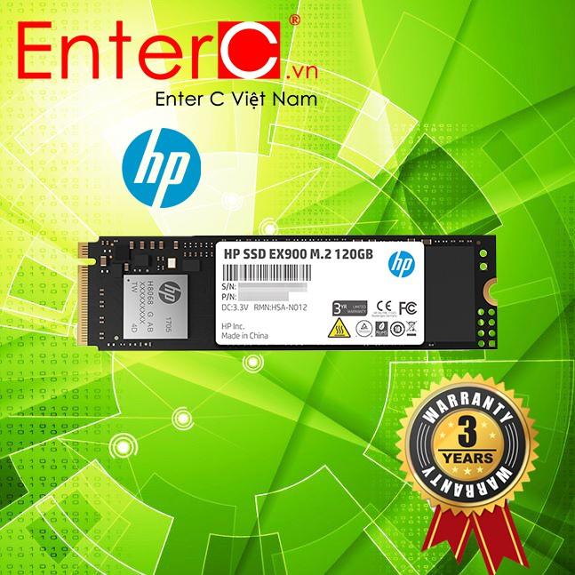 Ổ cứng SSD M2-PCIe 120GB HP EX900 NVME 2280