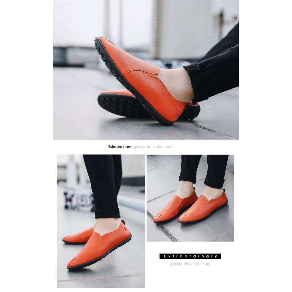 [ HOT ]  Giày lười nam Hàn Quốc đẹp, chuẩn thời trang công sở, giá rẻ năm 2019, Tphcm