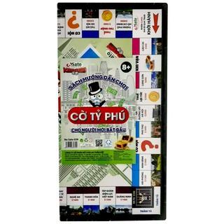 Đồ chơi CỜ TỶ PHÚ (62 chi tiết/bộ) phiên bản Việt của Monopoly