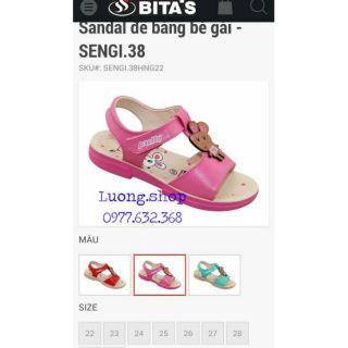 Sandal bita s bé gái SENGI38 (size 22-30)