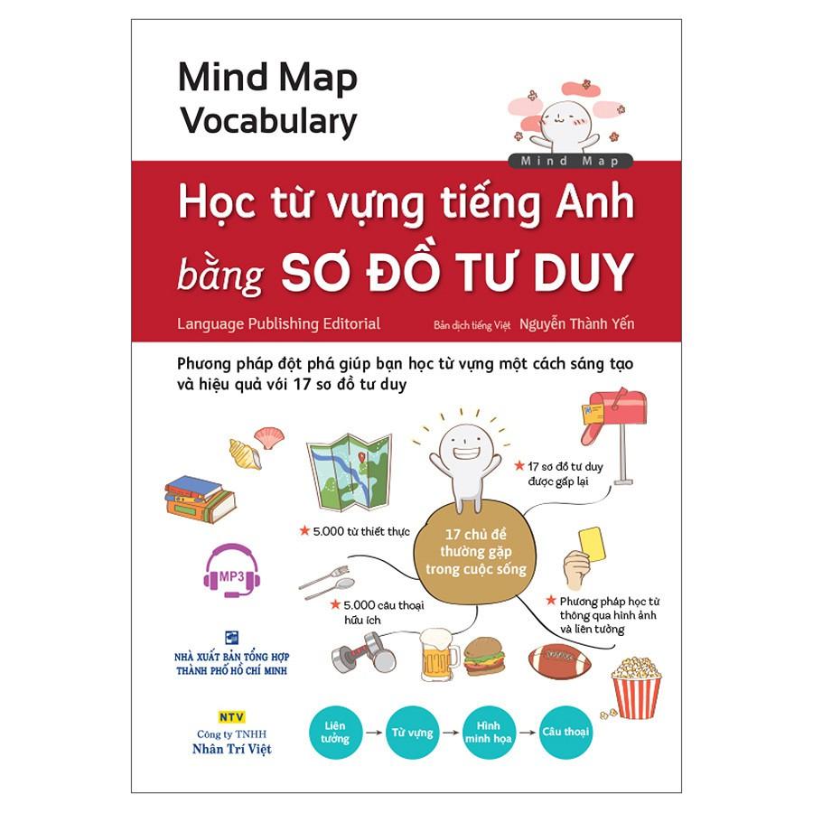 Sách - Học Từ Vựng Tiếng Anh Bằng Sơ Đồ Tư Duy (Kèm 1 Đĩa MP3)