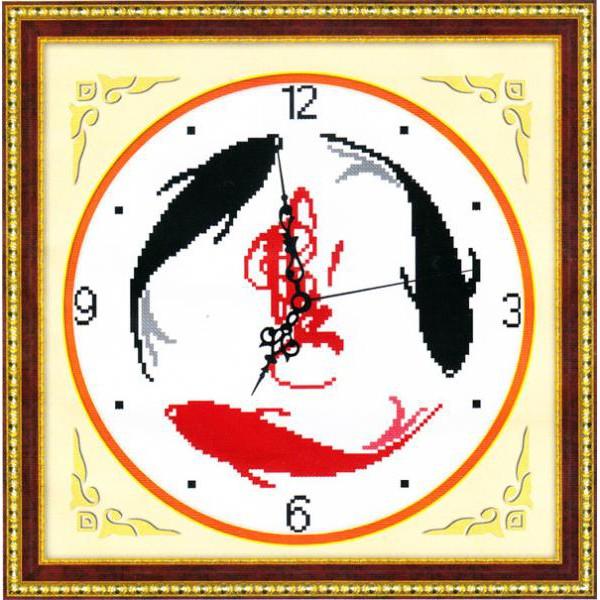 Niên Niên Hữu Dư Tranh thêu chữ thập DH2178