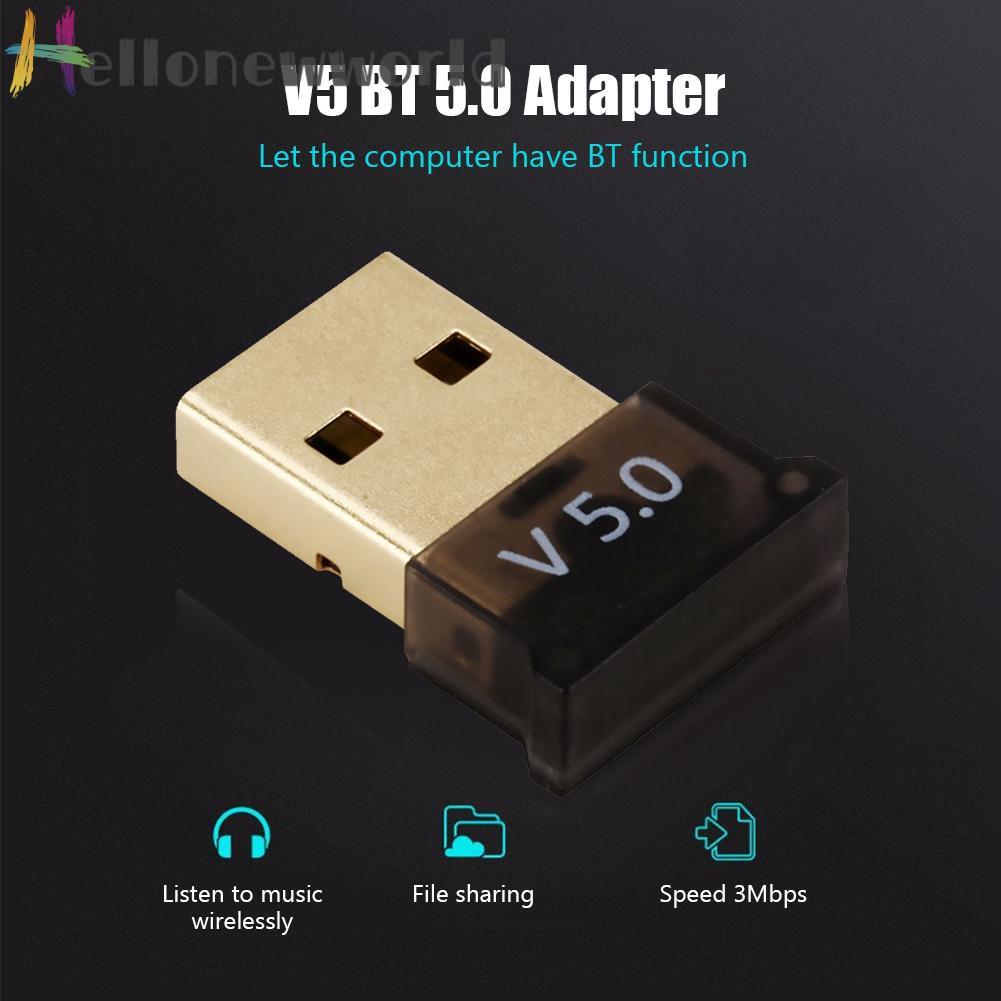 Bộ Thu Phát Âm Thanh Bluetooth 5.0 Hiệu Hellonewworld Csr 4.0