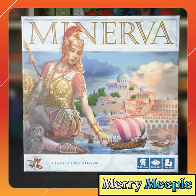 [US] Minerva – Trò chơi board game