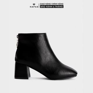 """Giày Bốt Nữ Boot Da Mịn Gót Vuông 5Phân HAPAS - BOT528 giá chỉ còn <strong class=""""price"""">16.900.000.000đ</strong>"""