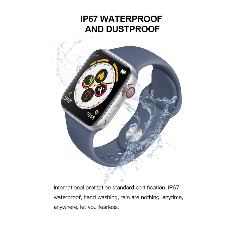 Đồng Hồ Đeo Tay Thông Minh T500 Bluetooth 100% Theo Dõi Sức Khỏe