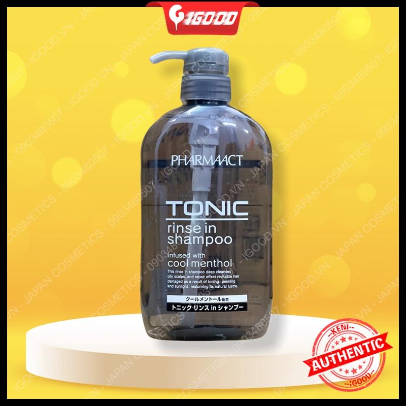 Dầu gội nam Tonic Pharmaact Nhật Bản 600ml