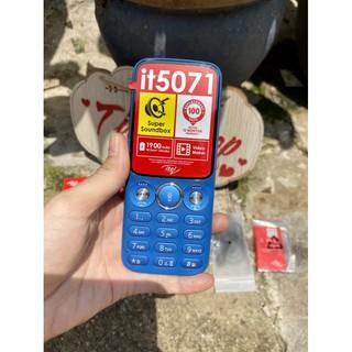 Điện thoại itel it5071 thiết kế nhỏ gọn, pin sử dụng được nhiều ngày