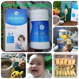 Ngũ cốc lợi sữa Long Liên 3in (hộp 500gr) – Lợi sữa cho mẹ sau sinh
