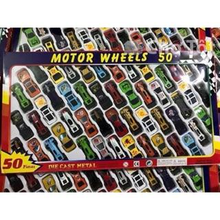 Bộ 50 ô tô sắt moto wheel _ Giá Bán Sỉ Lẻ _ Giá Sỉ Tại Kho