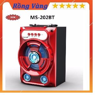 Loa Bluetooth Xách Tay Loa Mini Led nháy Speaker H.S.L.H Âm Thanh Đỉnh Cao thumbnail